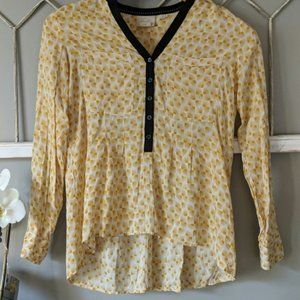 Anthropologie Vanessa Virginia Honore blouse 10